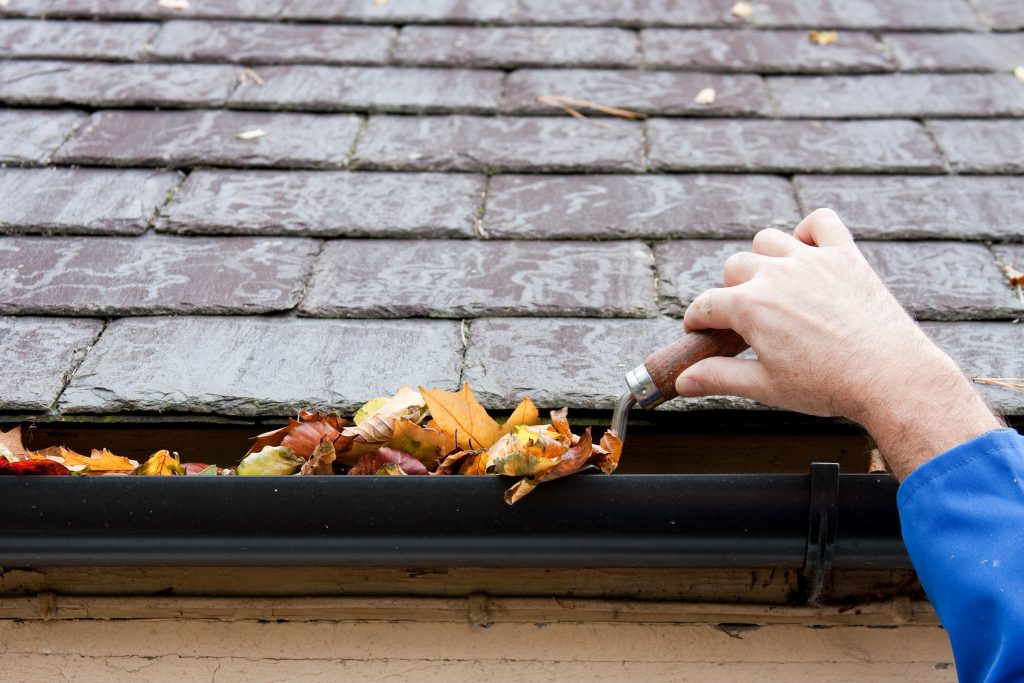 gutter scoops make it easy to clear your gutter of debris